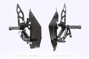 MORIWAKI/モリワキ BACK STEP KIT/バックステップキット ブラック CBR400R (13-15)  ・13-400X,13-15CB400F 共通