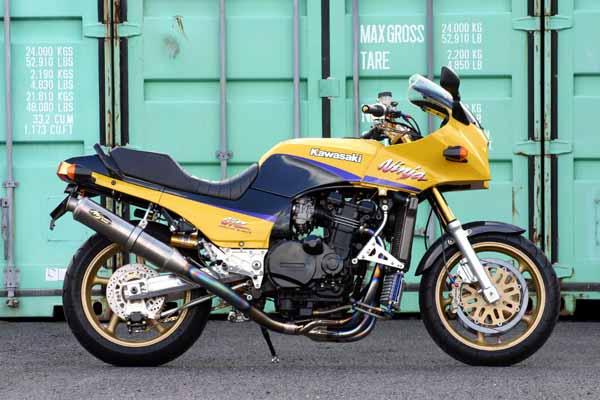 GPZ900R ノジマ FASARM R TITAN 機械曲げ マフラー チタン ( ntpx604vti )
