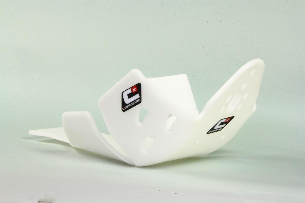 CROSSPRO/クロスプロ DTC EDスキッドプレート ホワイト YZ250F 10-13 (品番 2CP085095B0600)