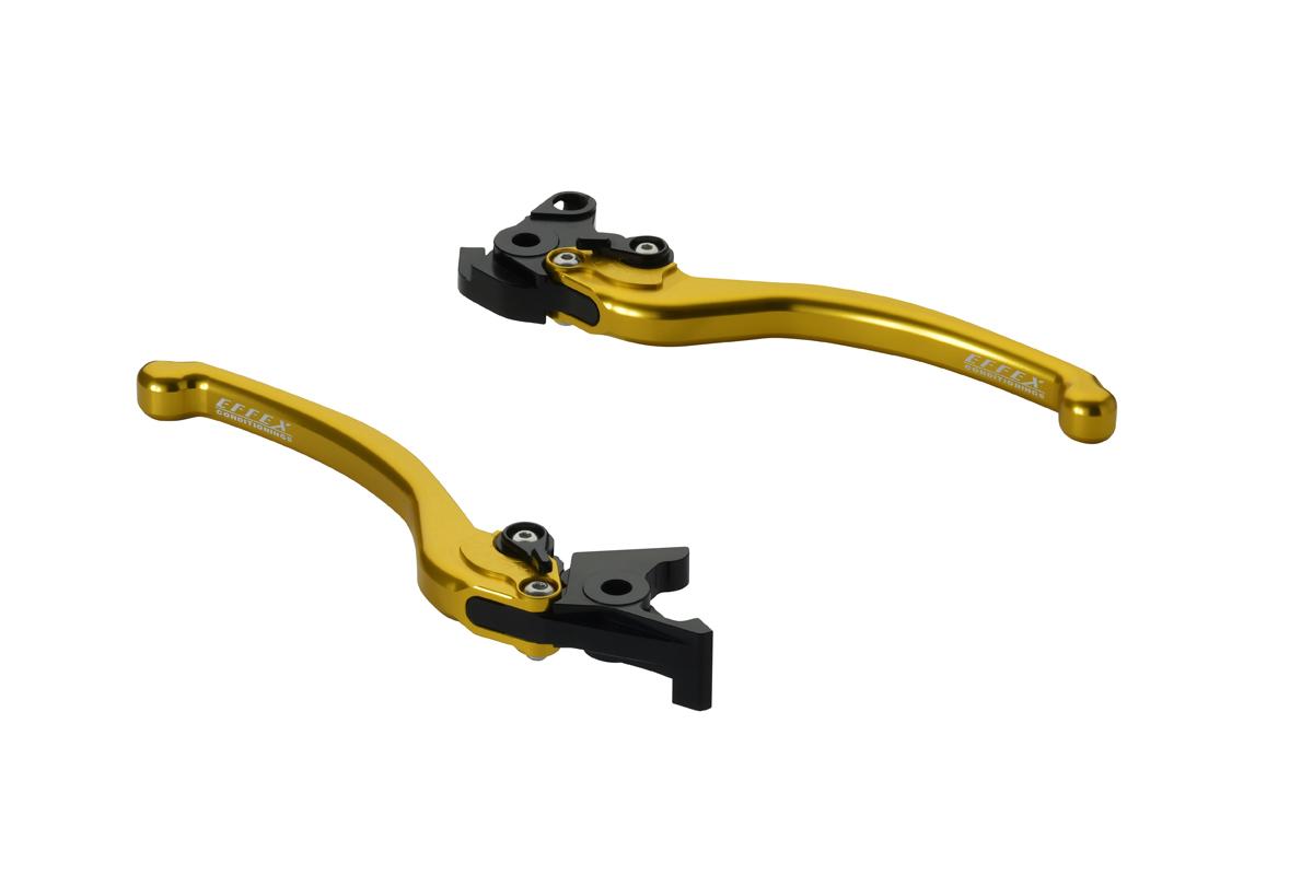 EFFEX/エフェックス スムースフィットレバー ゴールド VTR1000F 97-07 (品番 EAL016G)