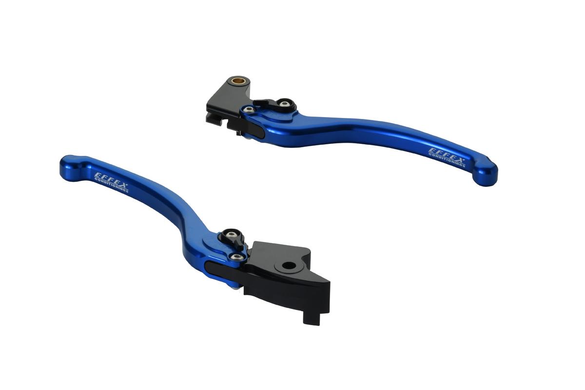 EFFEX/エフェックス スムースフィットレバー ブルー CBR954RR/600RR 03-06 (品番 EAL021B)