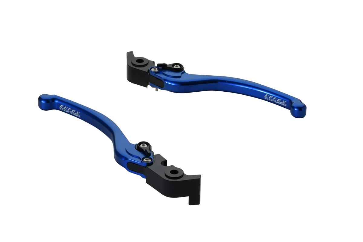 EFFEX/エフェックス スムースフィットレバー ブルー H2/H2R 15-18 (品番 EAL030B)
