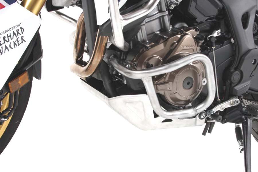 HEPCO-BECKER/ヘプコアンドベッカー エンジンガード ステンレス CRF1000L AfricaTwin 16-17 ( 501994 00 22 )