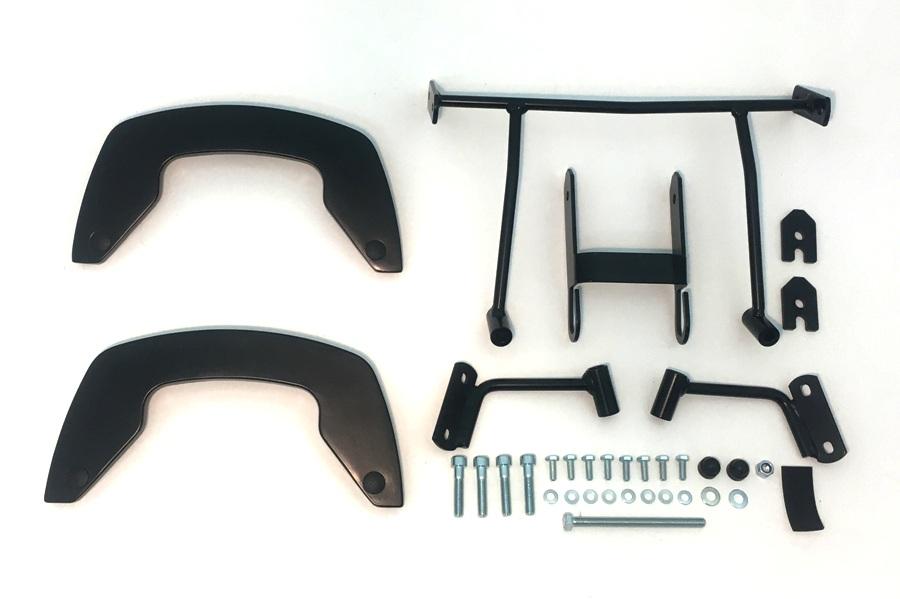 HEPCO-BECKER/ヘプコアンドベッカー C-Bow ブラック Ninja650 17 ( 6302528 00 01 )