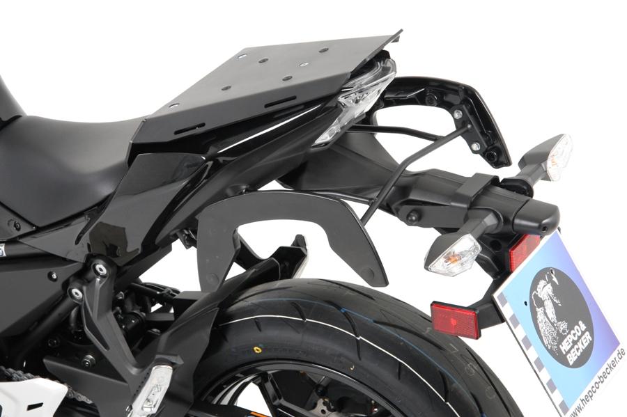HEPCO-BECKER/ヘプコアンドベッカー スポーツラック Ninja650 17 ( 6702528 00 01 )