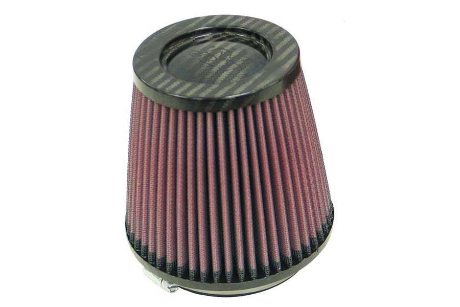 K&N/ケーアンドエヌ ラウンドテーパー カーボン φ102(102:137X129) (品番 RP-4930)