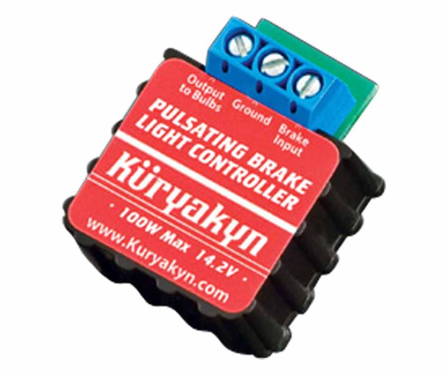 kuryakyn/クリアキン ブレーキ ライト コントローラー GL1500/1800/F6B 75-17 (品番 KUR-908)