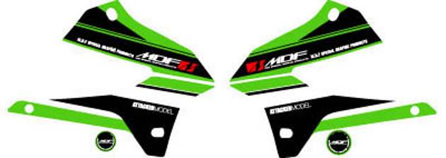MDF/エムディーエフ  KLX250アタッカシュラウドGR  (品番 M08KLX-A-GR-SH)