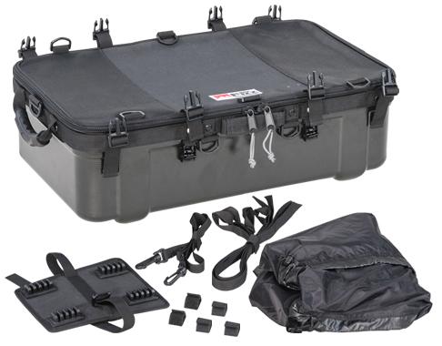 TANAX motofizz / タナックス モトフィズ  キャンピングシェルベース ブラック 容量30L