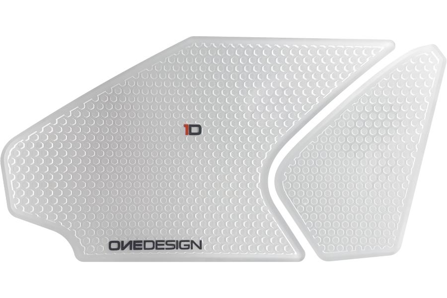 PRINT/プリント タンクサイドパッド HDR クリア  CBR1000RR 12-16 (品番 HDR214)