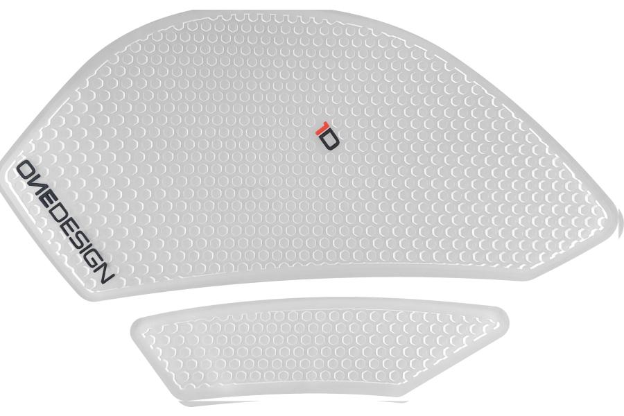 PRINT/プリント タンクサイドパッド HDR クリア  ZX-6R 09-16 (品番 HDR220)
