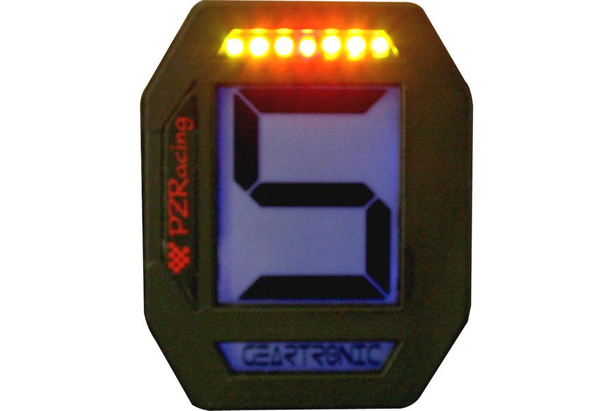 PZRacing/ピーゼットレーシング GEARTRONIC2 ギアインジゲーター&シフトライト ユニバーサル (品番 GT400 )