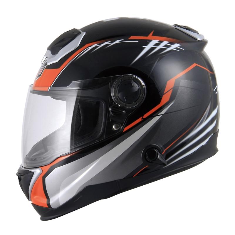 ZEALOT/ジーロット BullRaider GRAPHIC ブラック/オレンジ XS~XL (品番 BR0010)