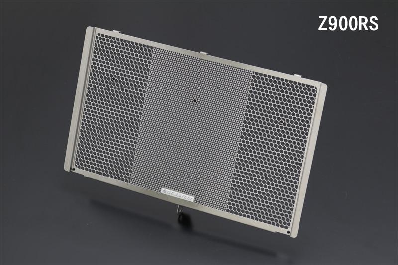 【PMC.Inc】 Z900RS ヘックスラジエターコアプロテクター ステンレス  (品番 184-1137 )