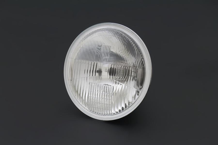PMC/ピーエムシー Brightec 旧カワサキ系 ヘッドランプ コンベックス レンズ単体 クリア