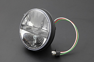 PMC/ピーエムシー Brightec トラック LED ラウンドタイプ ヘッドランプ