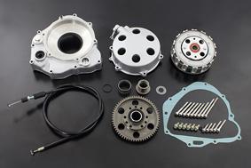 公式 【PMC.Inc】 【CB400Four 適応型式 CB400E (398cc) CB400FE (408cc)】 ※NC36車輌には適合しません。乾式クラッチフルキット F1用ワイヤー付, エリモチョウ 809ea905