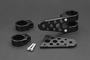 Billet ヘッドライトステー タイプ-2 対応フォークφ41 110mm