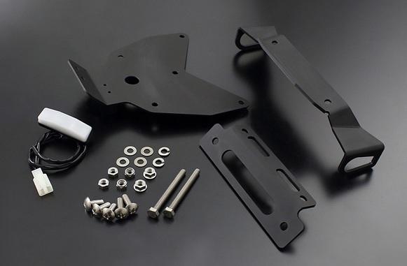 【PMC.Inc】 フェンダーレスキット ZRX1200 DAEG ブラック
