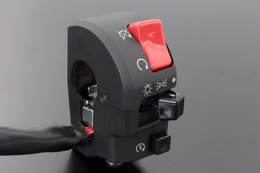 【PMC.Inc】 ハンドルスイッチ ZXタイプ ZRX1200 DAEG 右側33mm 左側53mm