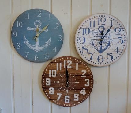 海外輸入 マリンクロック28.5cm 掛け時計 卸直営