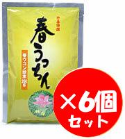 【GET!沖縄仲善 春うっちん粉末(袋入り200g)× 6個セット】春ウコン