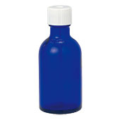 【GET!青色遮光瓶 50mL ドロッパー付】空ビン・空瓶