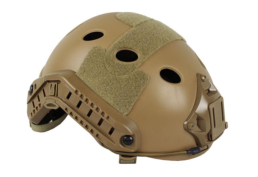 【ポイント10倍!12月24日8時59分まで】KINGRIN FASTタイプ PJ (パラレスキュージャンパー) ヘルメット DE