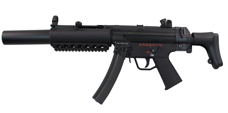 BOLT SWAT MP5SD6 BRSS AEG (JP Ver./Real Marking)
