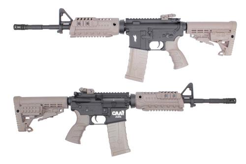 King Arms CAA Airsoft M4S1 Carbine AEG Sport Series 14.5inch DE