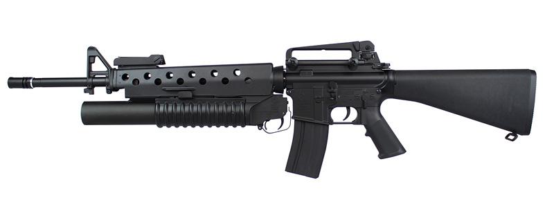 E&C Colt M16A4 AEG (M203グレネードランチャー)