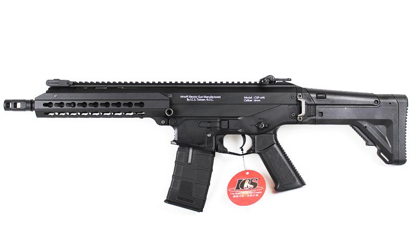 ICS CXP-APE CQB BK ブラック AEG (EBB/JP Ver.)【商品計8,000円(税抜)以上でCYCバイオBB弾をプレゼント中!】