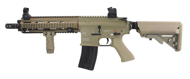 BOLT B4 HK416D DEVGRU Basic BRSS AEG TAN (JP Ver./Real Marking)