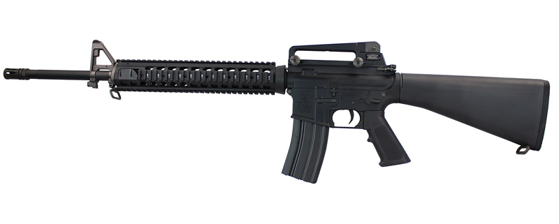 BOLT B4 M16A4 BRSS HEAVY AEG BK (JP Ver./Real Marking)