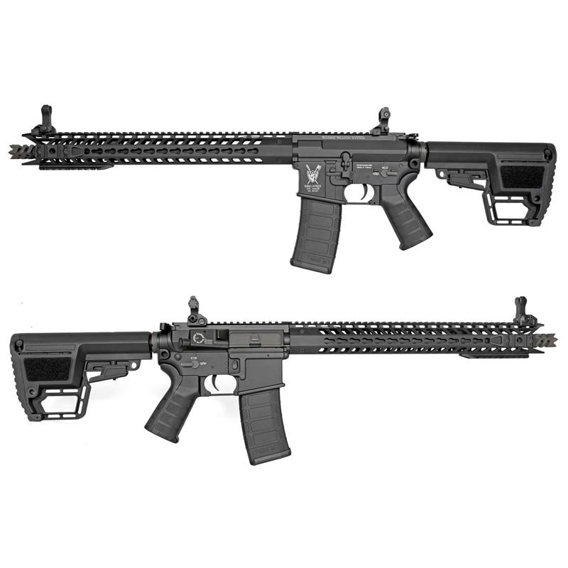 King Arms M4 TWS KeyMod Dinosaur BK AEG (JP Ver.)