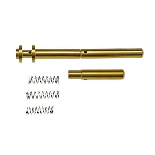 【ポイント10倍!12月24日8時59分まで】COWCOW Technology RM1 リコイルガイドロッド Gold (東京マルイ Hi-CAPA/1911シリーズ対応)