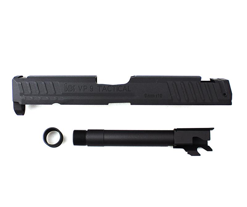 【大感謝セール UMAREX】TAITAN AIRSOFT 14mm逆ネジ UMAREX VP9対応タクティカルスライド&バレルセット 14mm逆ネジ, chouchou Candle:38af57ac --- emitsubishi.ru