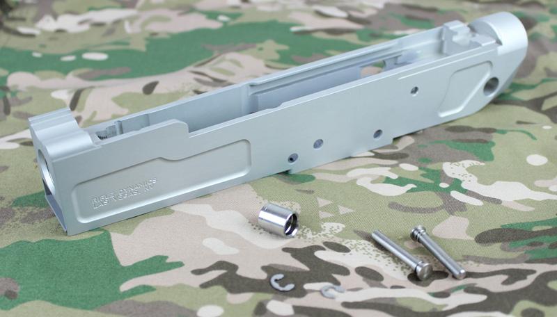 【大感謝セール】Ready Fighter RD/SB MB47スタイル GHK AK GBB用CNCレシーバー Neutral Hard Anodized