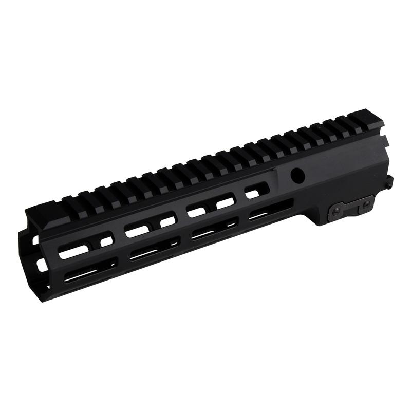 【パーツ類ポイント10倍!2月26日8時59分まで】C&C Tac Geissele SMR MK16タイプ M-LOK 9.3inchハンドガード Black (SOPMOD Block3 URG-I仕様/リアルサイズ対応)