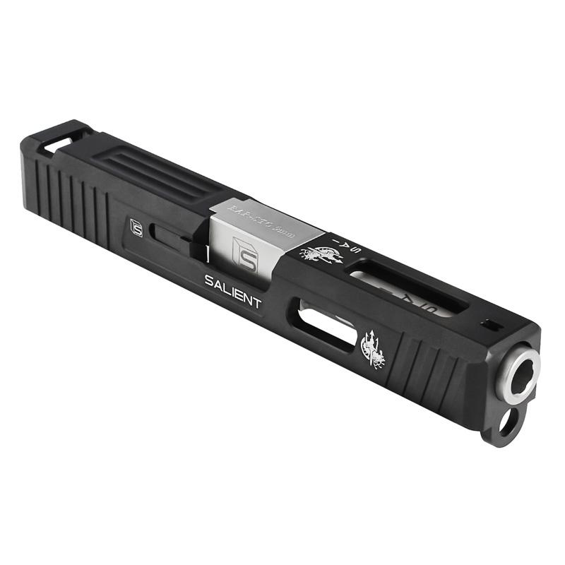 【ポイント10倍!6月11日8時59分まで】Guns Modify Glock19 SAI Tier Oneスタイルアルミスライドセット Costa Limited Edition (Bar-Sto刻印バレル/東京マルイ対応)