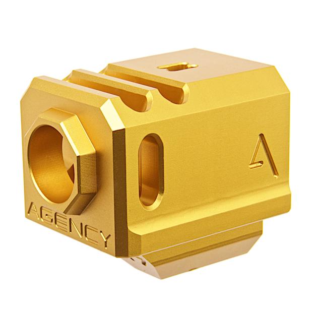 【ポイント10倍!12月24日8時59分まで】RWA Agency Arms 417コンペンセイター Gold (14mm逆ネジ/Official Licensed)