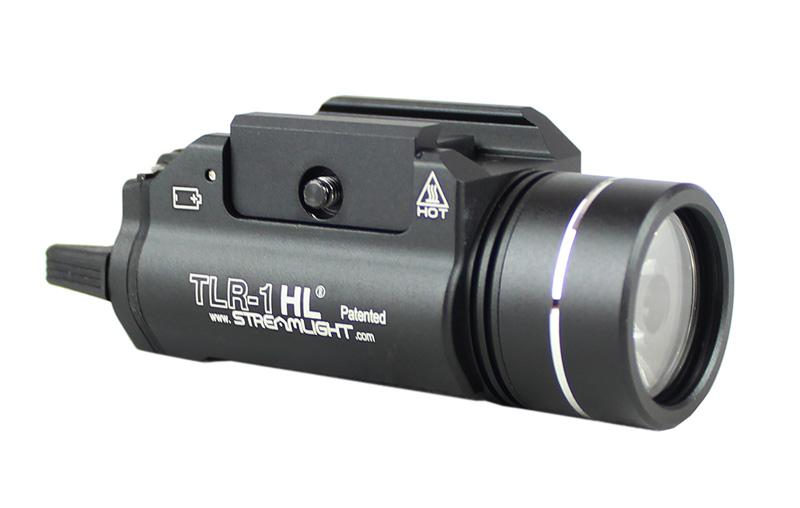 【只今ポイント5倍!11月25日8時59分まで】ACE1 ARMS STREAMLIGHT TLR-1 HLスタイル LEDウェポンライト BK