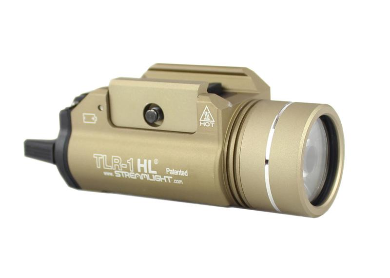 【只今ポイント5倍!11月25日8時59分まで】ACE1 ARMS STREAMLIGHT TLR-1 HLスタイル LEDウェポンライト FDE