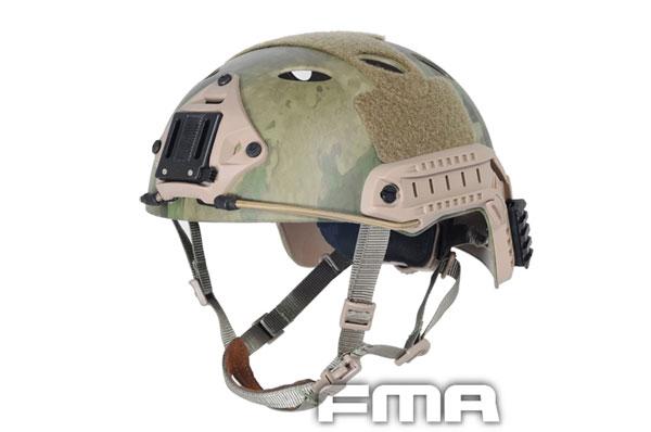 【ポイント10倍!12月24日8時59分まで】FMA FASTタイプ PJ ヘルメット A-TacsFG
