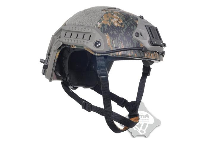 FMA Ops-Core Maritimeスタイル ヘルメット PG ピクセルグリーン L