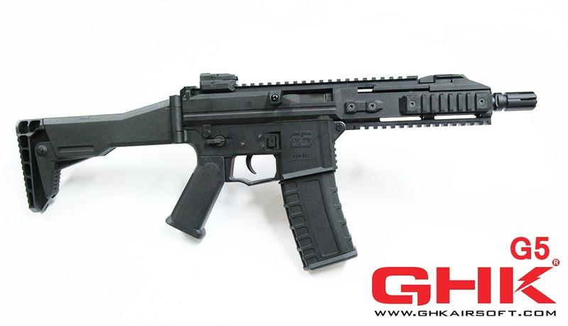 GHK G5 GBBR BK ブラック