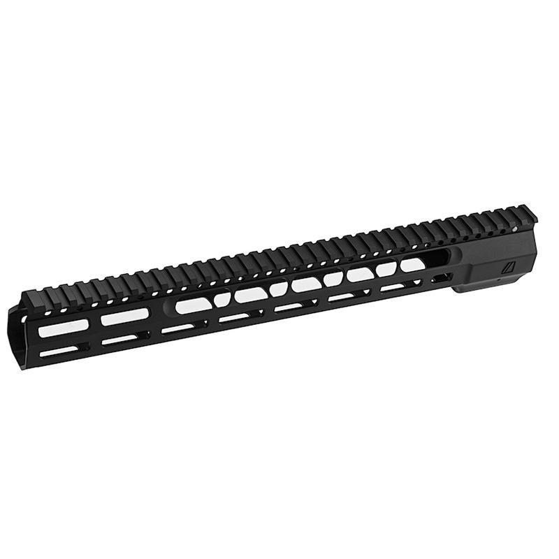 PTS ZEV Wedge Lock 14inchハンドガード Black (STD M4 AEG/GBB/PTWシリーズ対応)