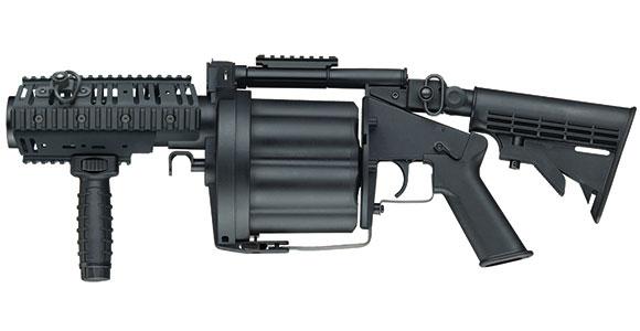 ICS MGL グレネードランチャー S BK ブラック (JP Ver.)