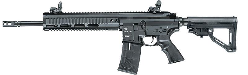 ICS PAR MK3 TACTICAL MTR BK ブラック AEG (EBB/JP Ver.)