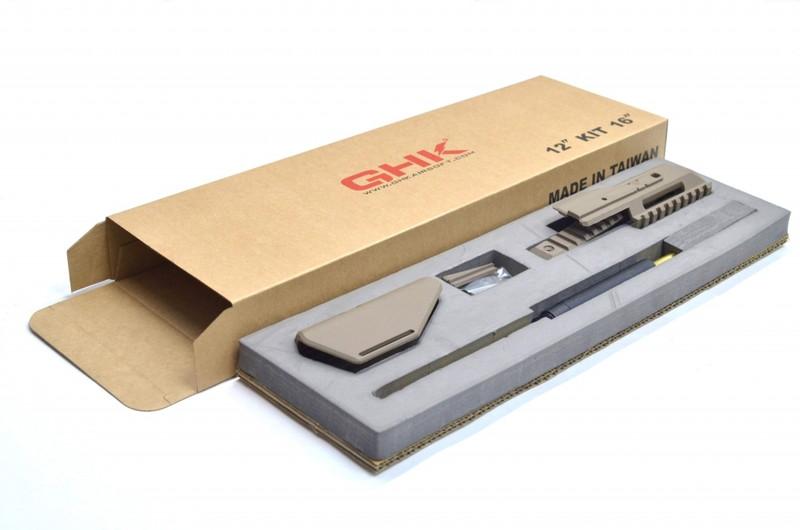 GHK G5 12inch カービンキット TAN